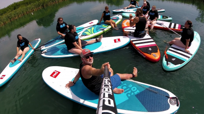 Group SUP Lesson Essex